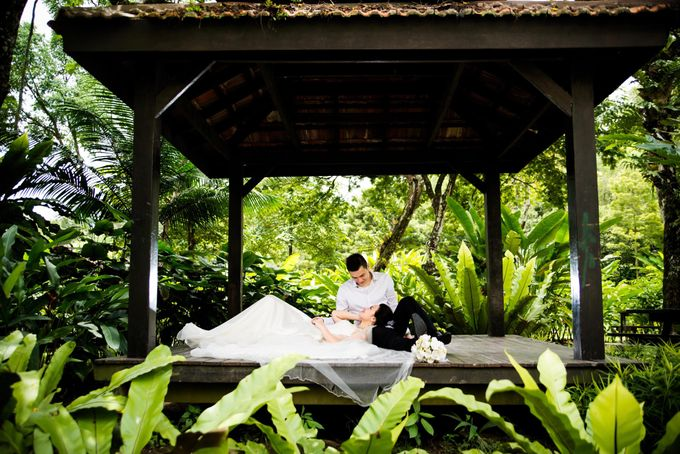 Outdoor Pre Wedding Photo Shoot by RedCarpet Bridal Artistry - 011