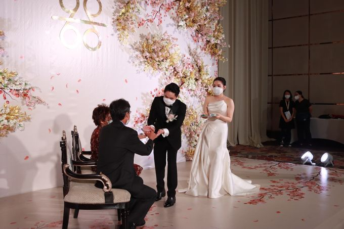 MC Teapai and New Normal Intimate Wedding Fairmont Hotel Jakarta - Anthony Stevven by Anthony Stevven - 014