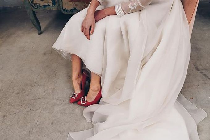 COMFORTABLE WEDDING AND OCCASION SHOES by SILVIA LAGO by SILVIA LAGO - 009