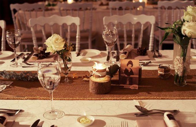 White Vintage Charm by Tea Rose Wedding Designer - 014