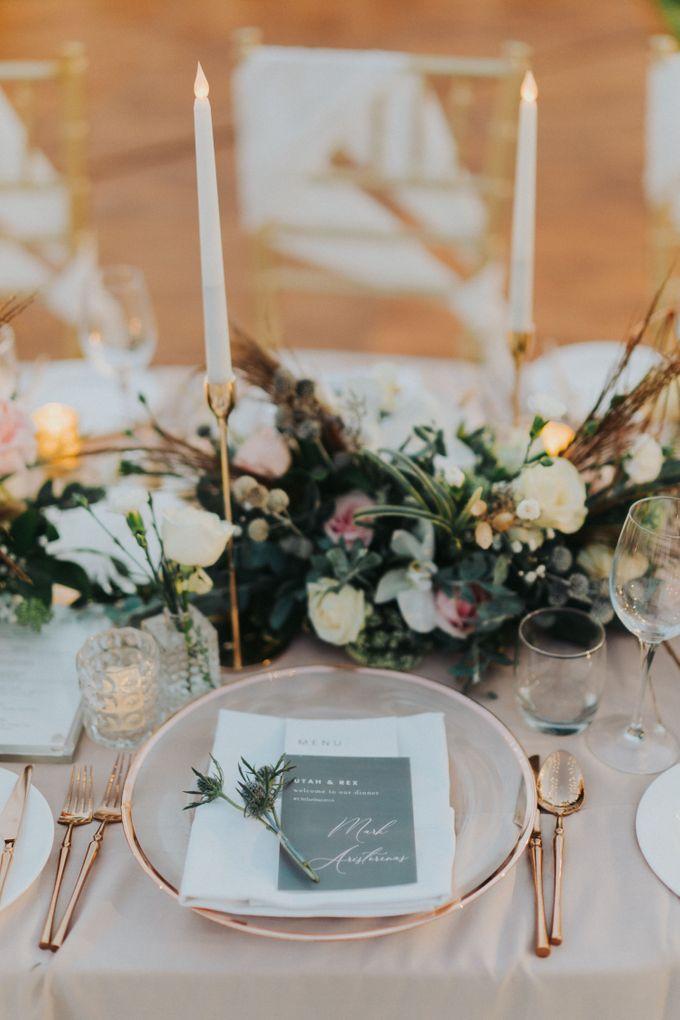 Romantic-Modern Wedding at Alila Uluwatu by Silverdust Decoration - 008