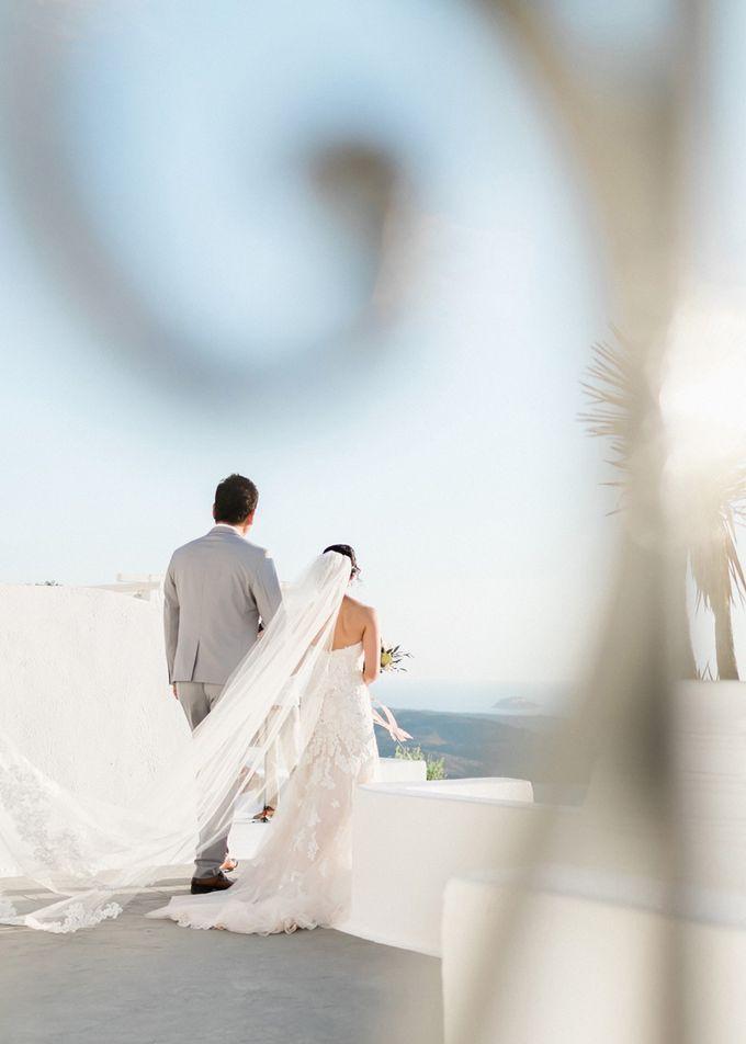 Dusty Pink Dream Wedding in Santorini by Stella & Moscha Weddings - 022