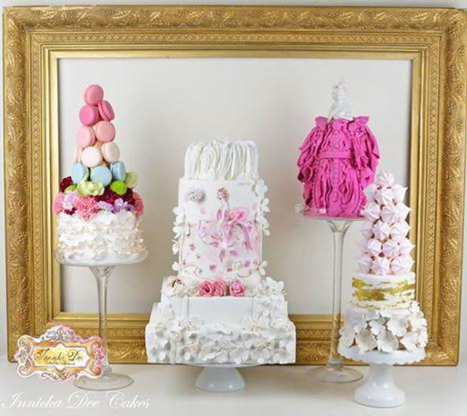 Wedding Cakes by Innicka Dee Cakes - 035