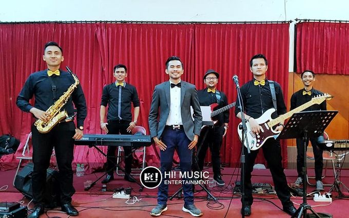 Wedding Reception Events (The Band) by Hi! Music Entertainment - 044