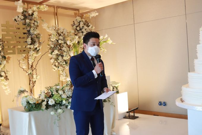 New Normal Entertainment Wedding at Westin Jakarta by Double V Entertainment by Double V Entertainment - 010