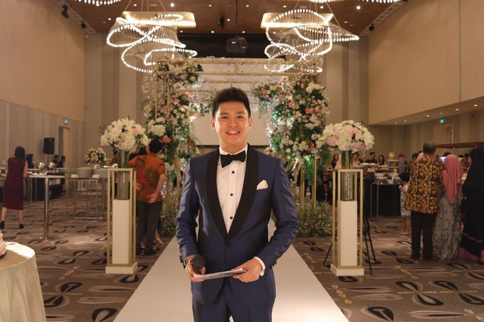 MC Wedding Double Tree Hotel Jakarta - Anthony Stevven by DONNY LIEM The Make Up Art - 012