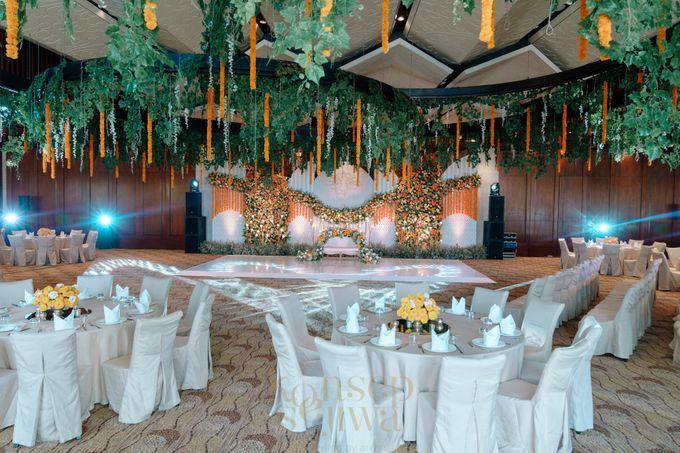 Beautifully Indian Wedding by Konsep Sejiwa - 007