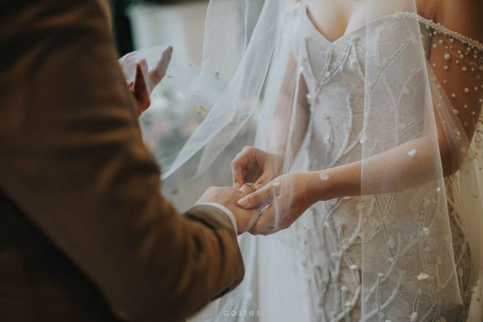The Wedding of Carin & Stephen by Costes Portrait - 024