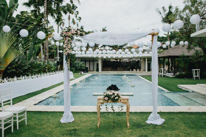 Wedding at Villa Kalyani in Canggu by Bali Tie d' Knot - 008