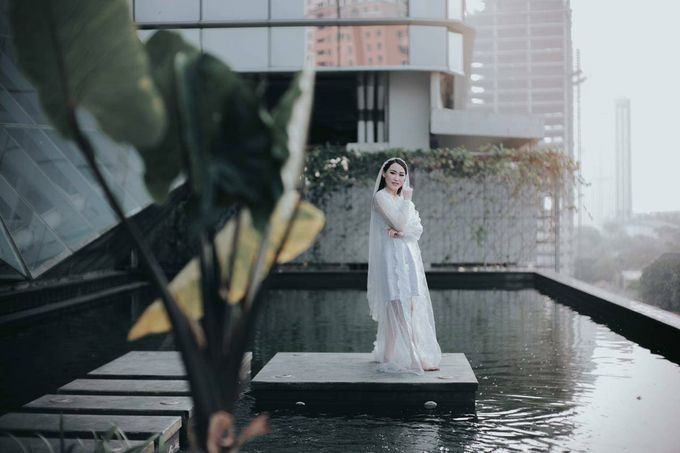 BRIDE ROBE  Morning Session Mrs Meilina by Infibrides ID - 001