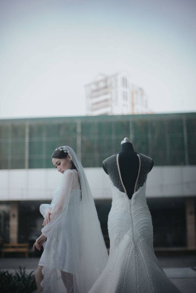 BRIDE ROBE  Morning Session Mrs Meilina by Infibrides ID - 002