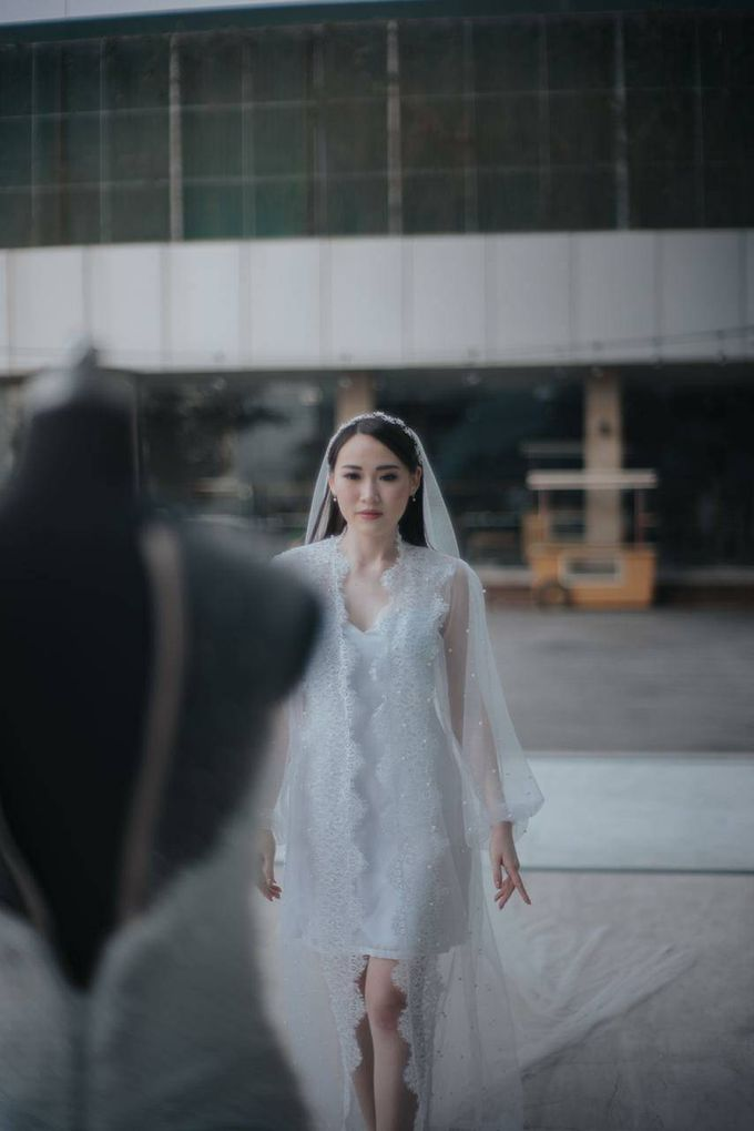 BRIDE ROBE  Morning Session Mrs Meilina by Infibrides ID - 003