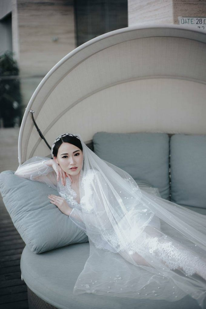 BRIDE ROBE  Morning Session Mrs Meilina by Infibrides ID - 004