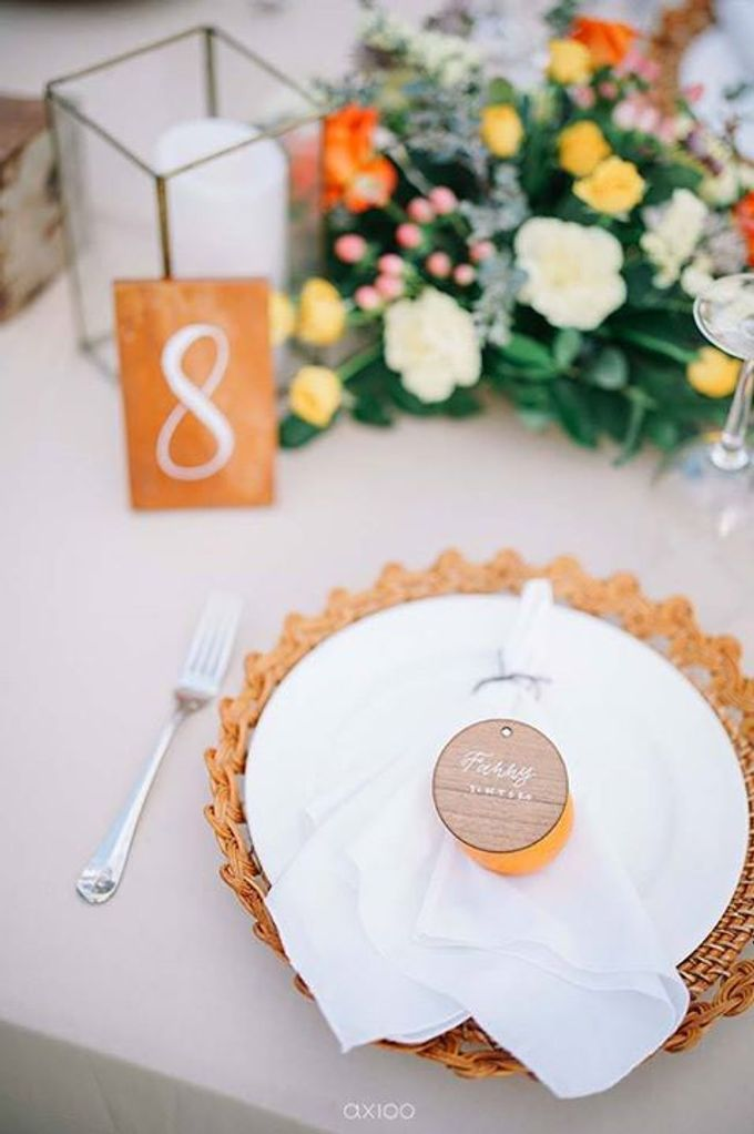 Khayangan Estate - Citrus Inspired Reception by Flora Botanica Designs - 034