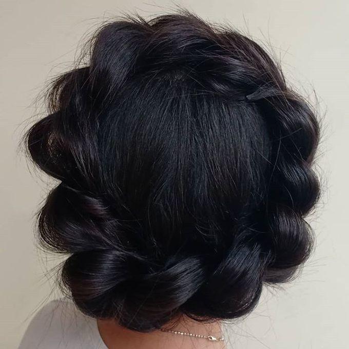 Updo Hairstyles By Milan Makeup Bridestory Com