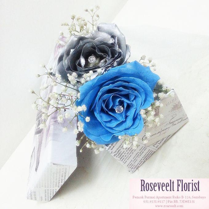 Flower in a Box Arrangement by Roseveelt Florist - 007