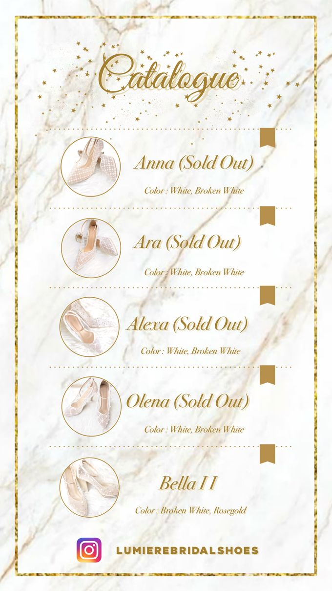 Catalogue by Lumiere Bridal Shoes - 002