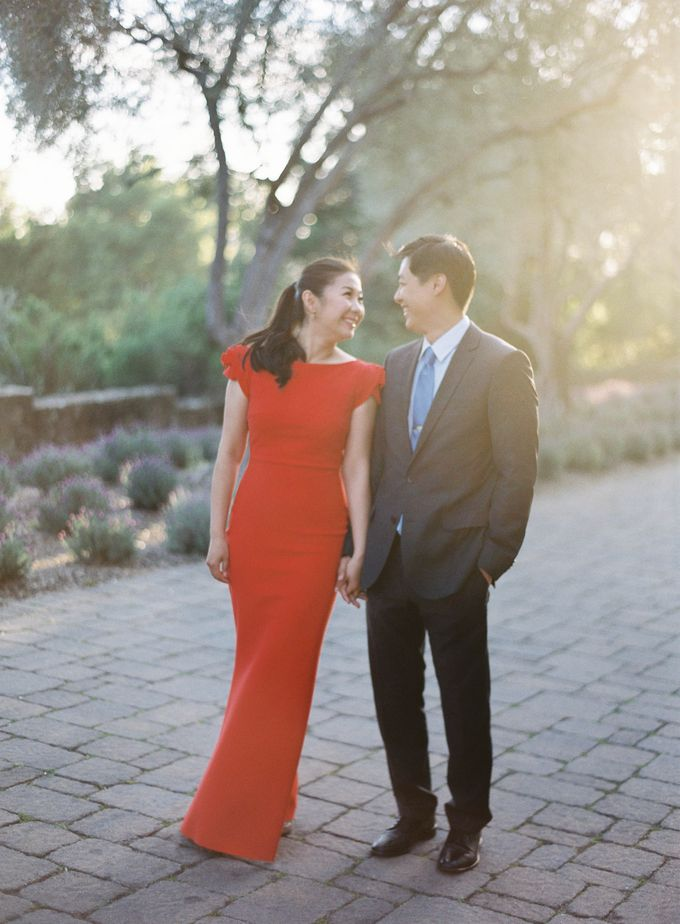 Chinese Tea Ceremony & Wedding in the Lavender Gardens of San Ysidro Ranch by Jen Huang Photo - 015
