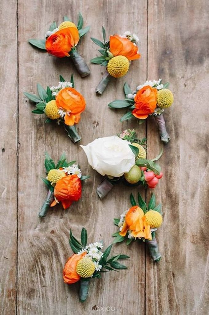 Khayangan Estate - Citrus Inspired Reception by Flora Botanica Designs - 002