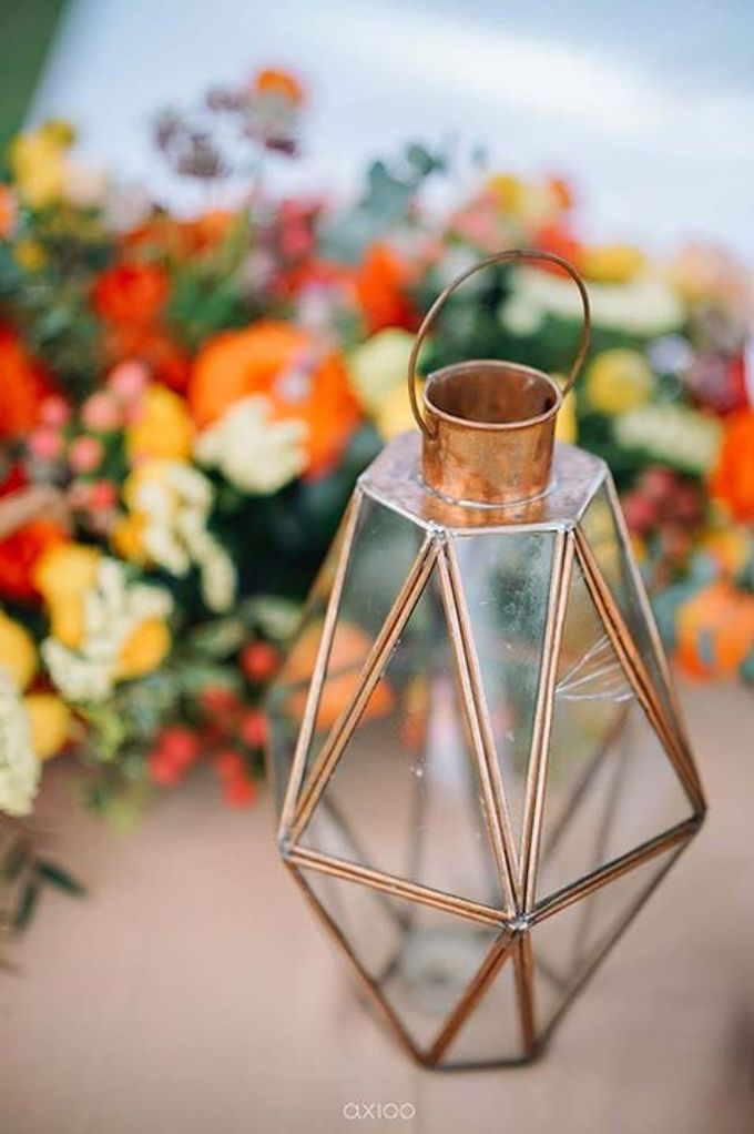 Khayangan Estate - Citrus Inspired Reception by Flora Botanica Designs - 030