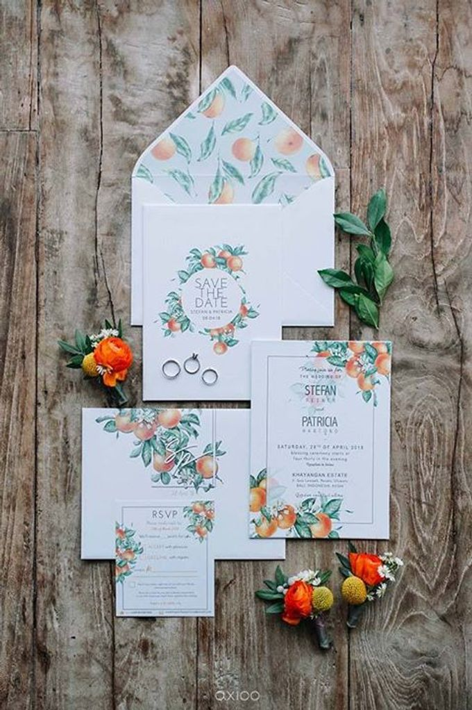 Khayangan Estate - Citrus Inspired Reception by Flora Botanica Designs - 001