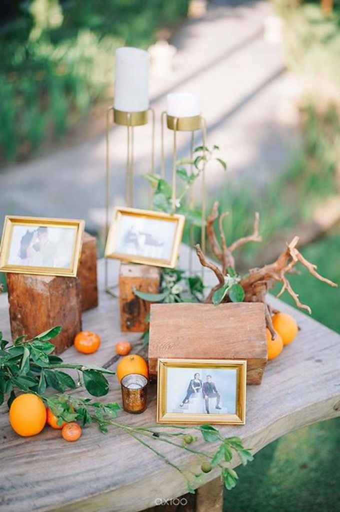 Khayangan Estate - Citrus Inspired Reception by Flora Botanica Designs - 007