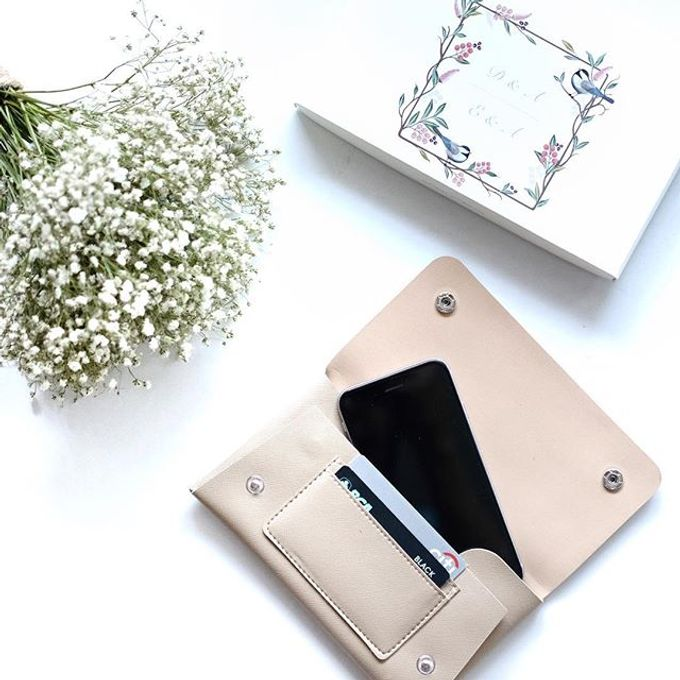 Handphone & Card Wallet by Le'kado - 004