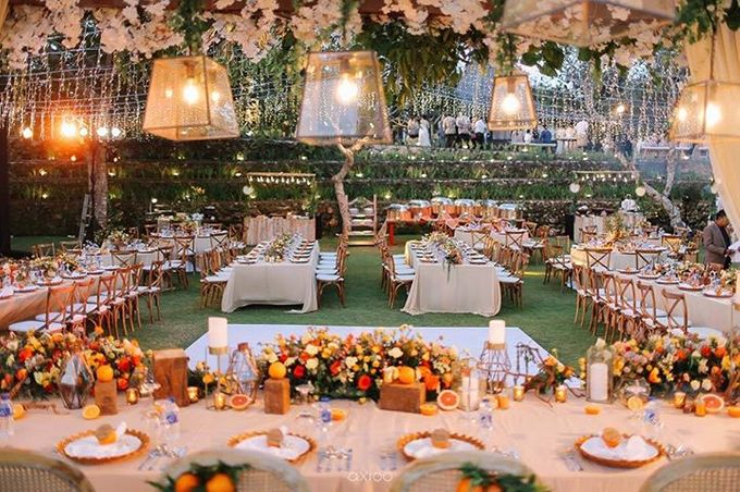 Khayangan Estate - Citrus Inspired Reception by Flora Botanica Designs - 048