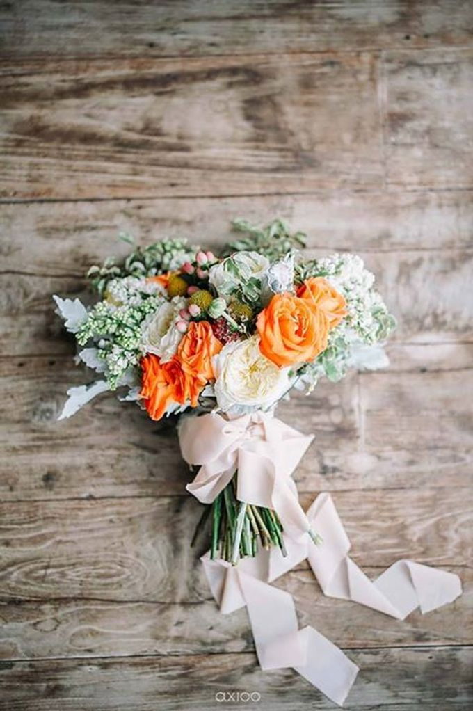Khayangan Estate - Citrus Inspired Reception by Flora Botanica Designs - 003