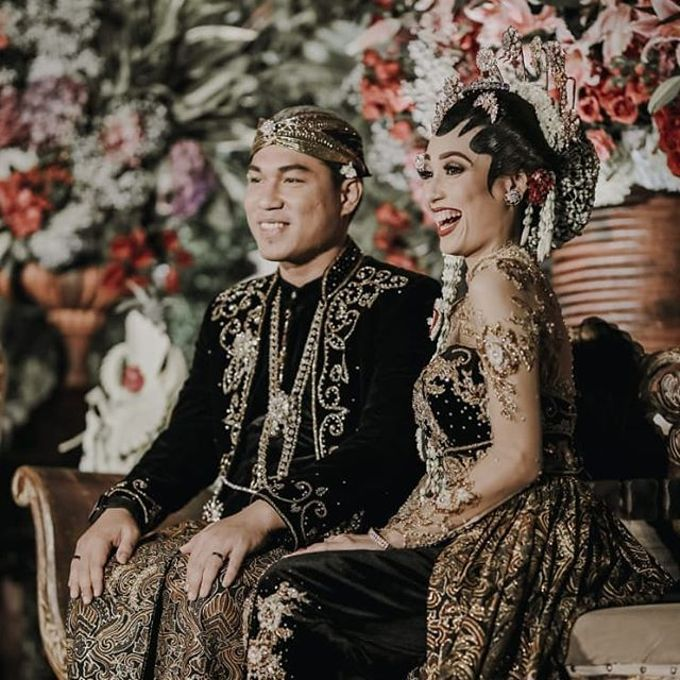 Rizal Armada & Monica Resepsi by Chandira Wedding Organizer - 004