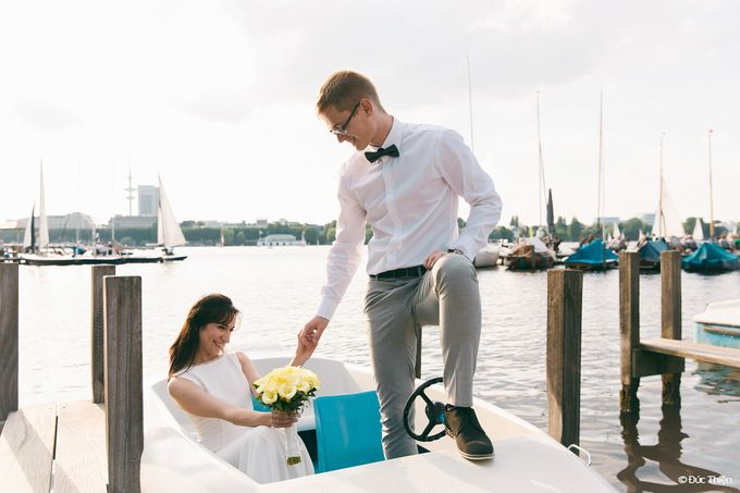A Destination Wedding to Hamburg by DUC THIEN PHOTOGRAPHY - 003