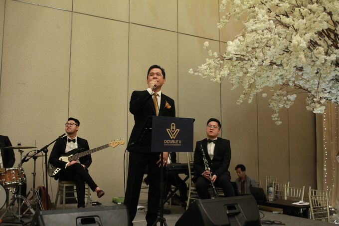 Mc Entertainment Wedding Sheraton Gandaria - Anthony Stevven  with Double V Entertainment Jakarta by Anthony Stevven - 019