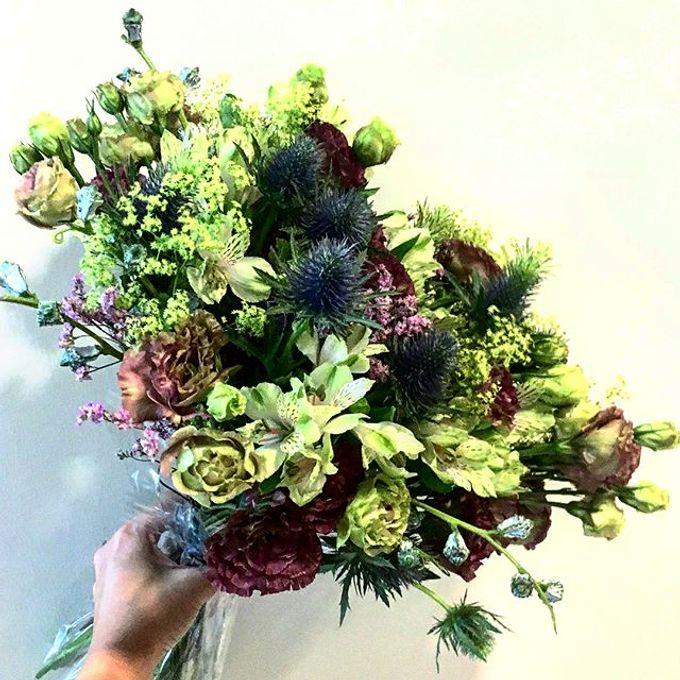 Premium Bridal Bouquet  by La Fleur Société - 012