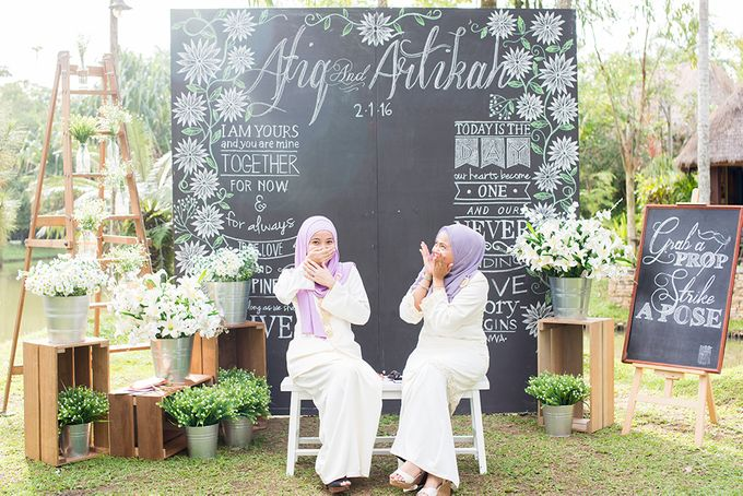 Afiq & Teyka - Groom Reception by Cubic Foto by PlainPaperpaint Production - 047