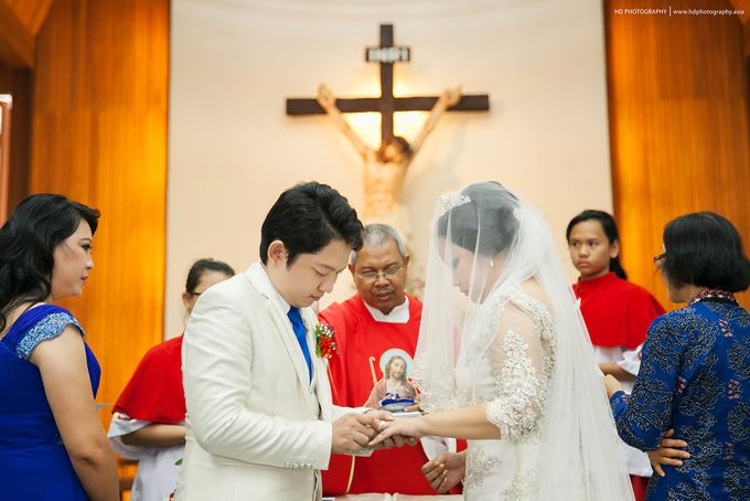 Elit Condro and Fransisca - wedding by HD Photography - 023
