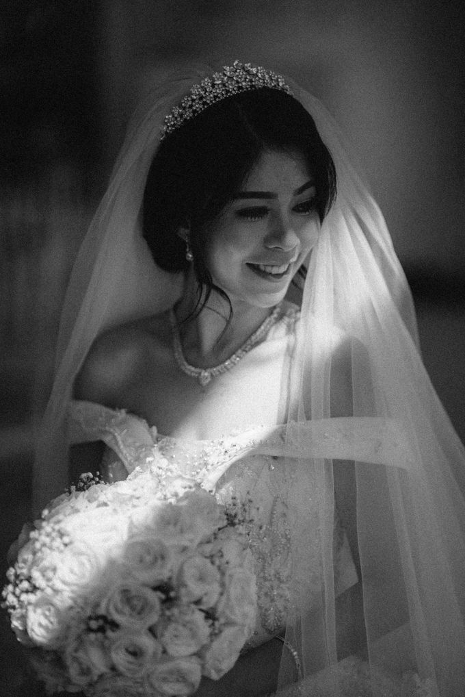 Andre & Elvira Wedding by Dhika by MA Fotografia - 035