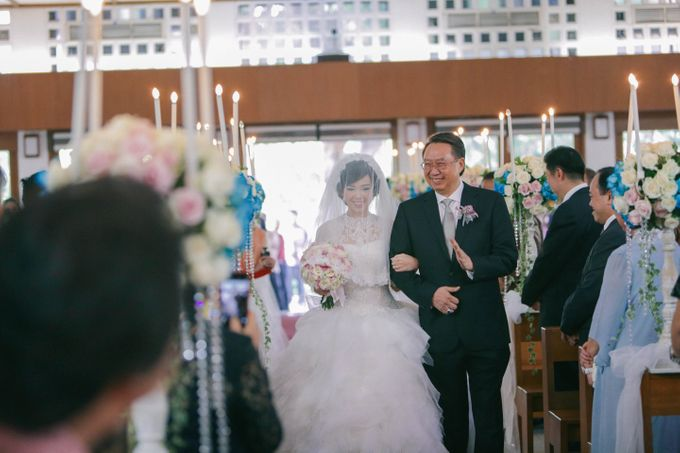 Maurice & Natasya Jakarta Wedding by Ian Vins - 021