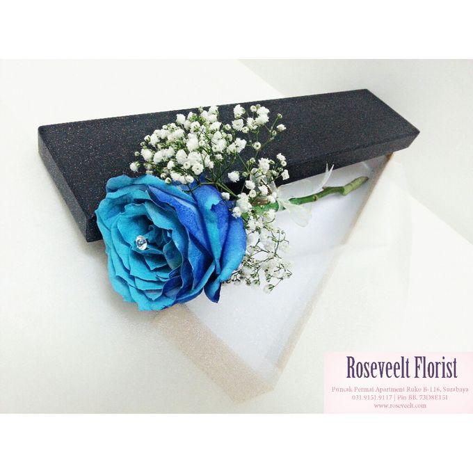 Flower in a Box Arrangement by Roseveelt Florist - 009