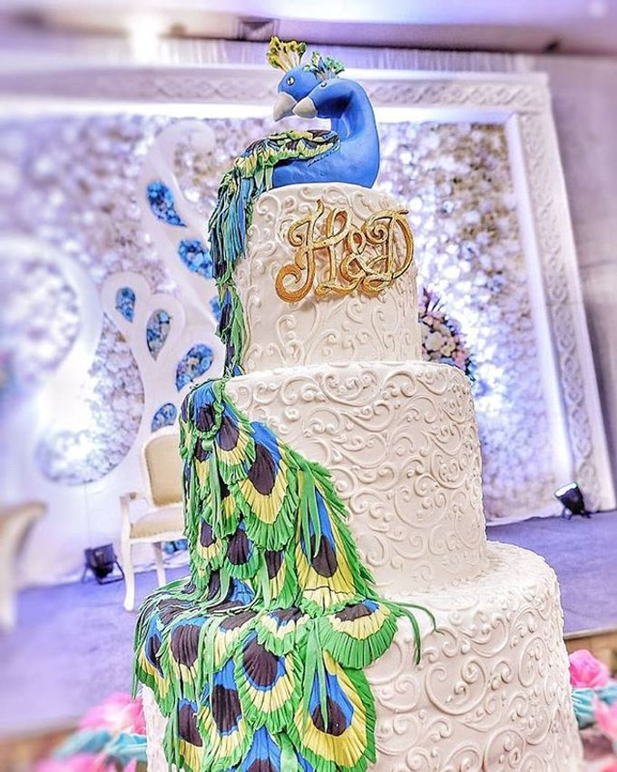 Wedding Cake Customize Design by RR CAKES - 001
