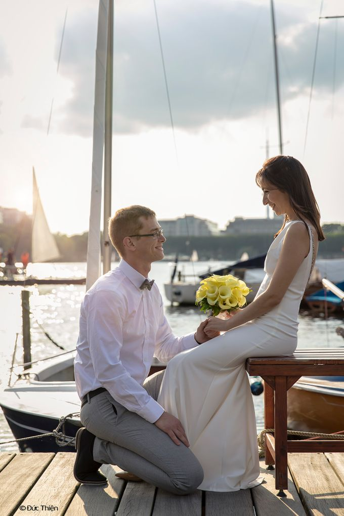 A Destination Wedding to Hamburg by DUC THIEN PHOTOGRAPHY - 006