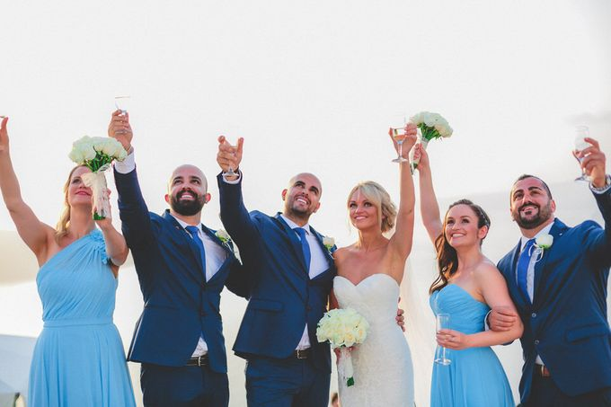 An elegant off white and peach wedding by MarrymeinGreece - 048