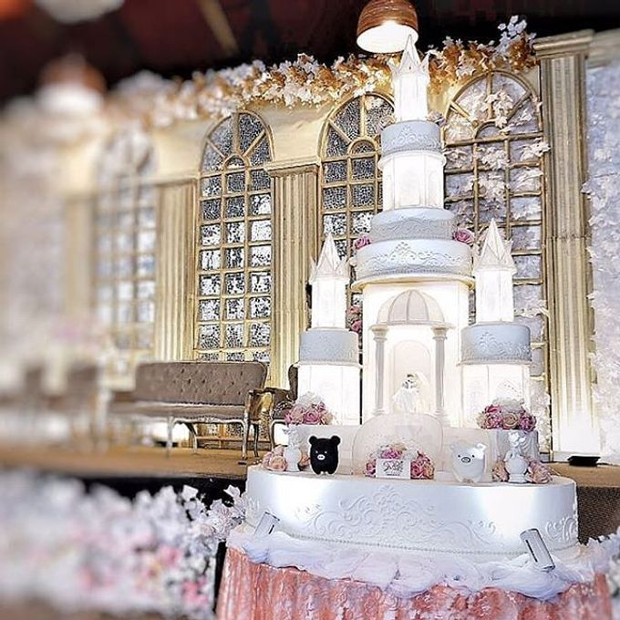 Wedding Cake Customize Design by RR CAKES - 025