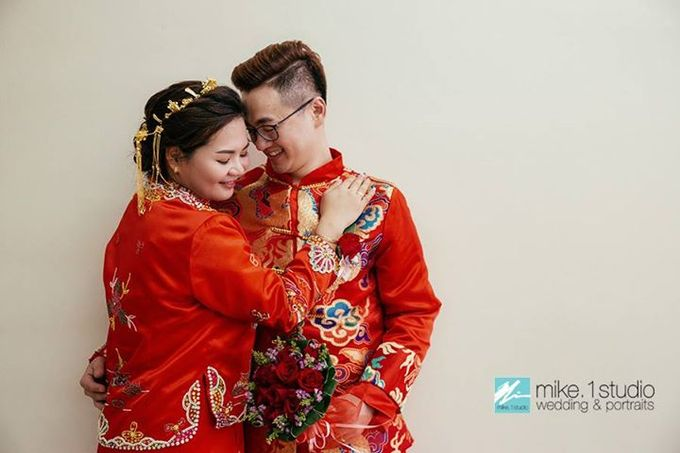 Chinese Wedding Day Photography by mike.1studio weddings & portraits - 010