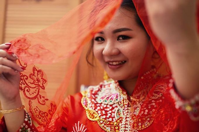 Chinese Wedding Day Photography by mike.1studio weddings & portraits - 003