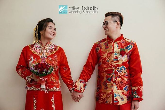 Chinese Wedding Day Photography by mike.1studio weddings & portraits - 007