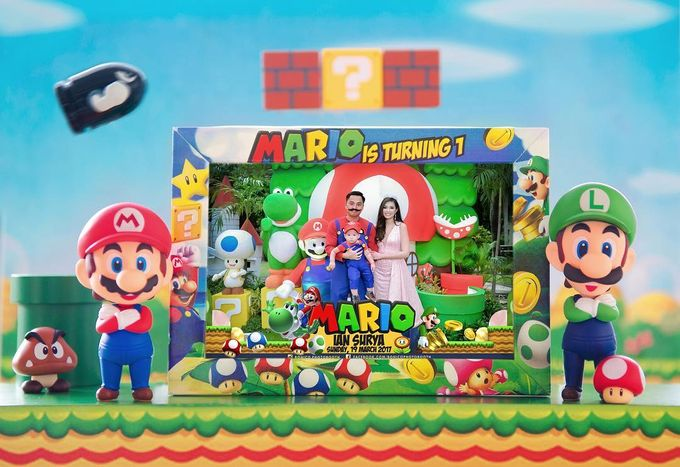 Mario 1st Birthday by Angie's Cake - 001