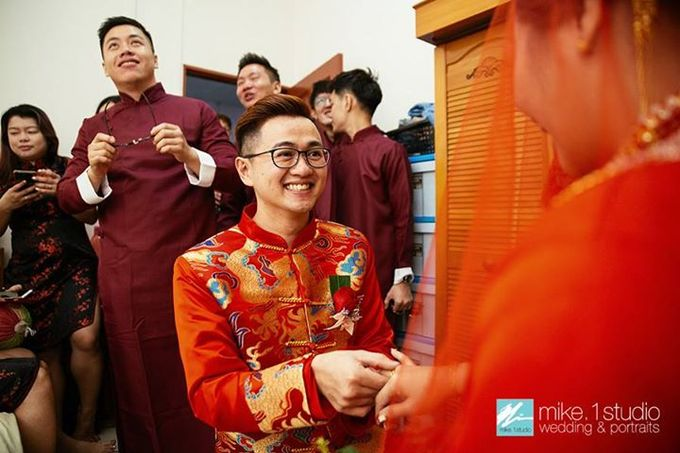 Chinese Wedding Day Photography by mike.1studio weddings & portraits - 005