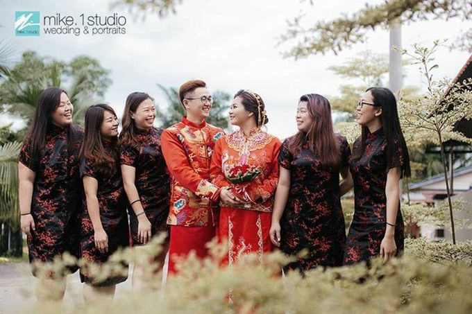 Chinese Wedding Day Photography by mike.1studio weddings & portraits - 013