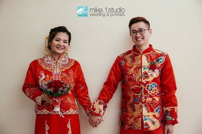 Chinese Wedding Day Photography by mike.1studio weddings & portraits - 006