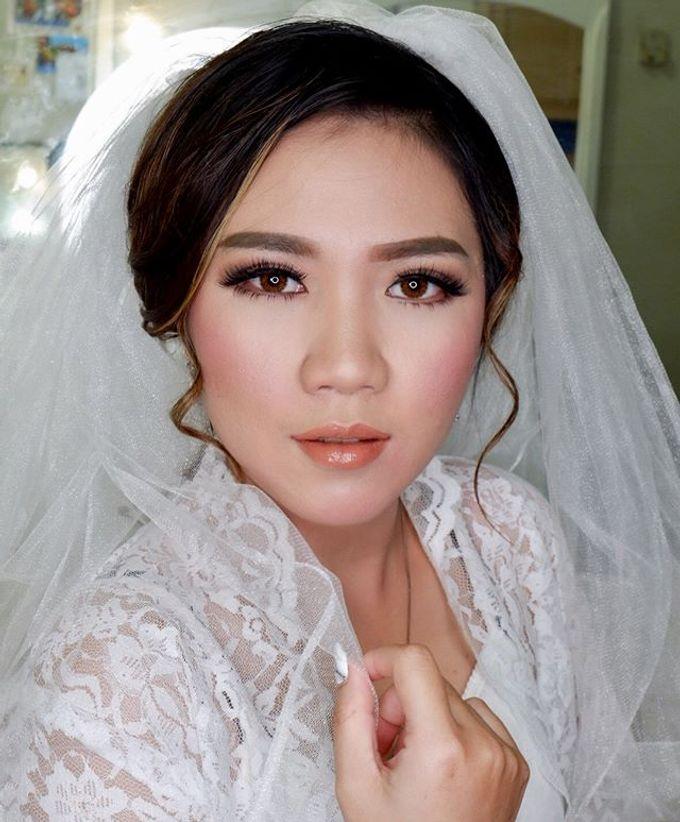 Wedding makeup by Vnimakeupartist - 001